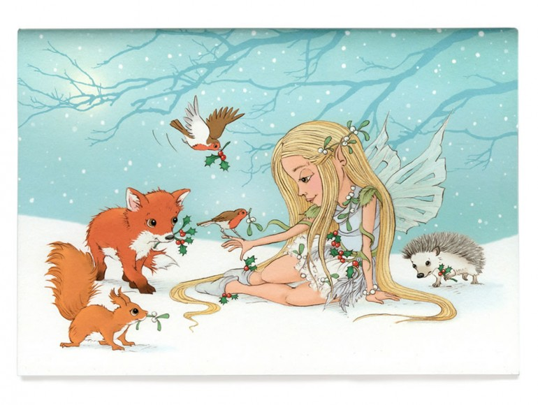 The Snow Fairy Sketchbook